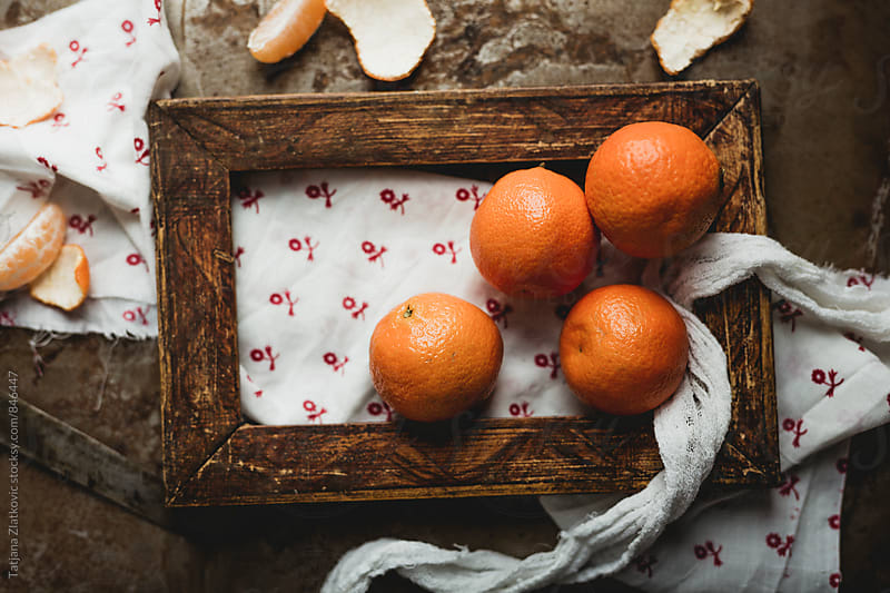 Tangerines by Tatjana Ristanic for Stocksy United