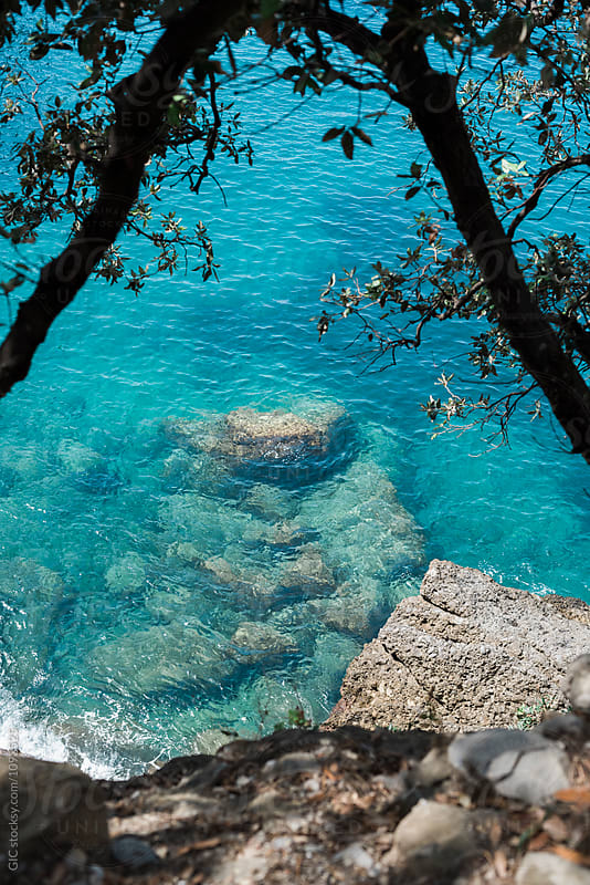Italian coastline by Simone Becchetti for Stocksy United