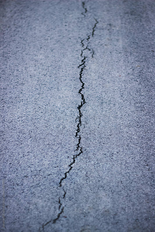Cracked concrete by Jovana Rikalo for Stocksy United