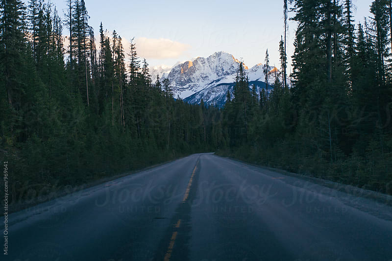 Road to Emerald Lake by Michael Overbeck for Stocksy United