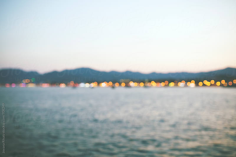 Seaside out of focus by Jovana Rikalo for Stocksy United