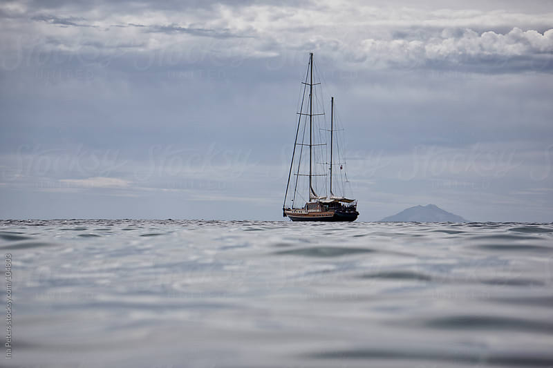 Sailing Boat at the sea by Ina Peters for Stocksy United