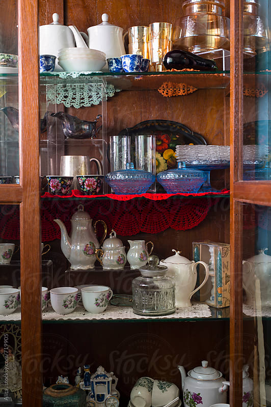 Collection of Peranakan (Straits Chinese) antiques  by Alita Ong for Stocksy United