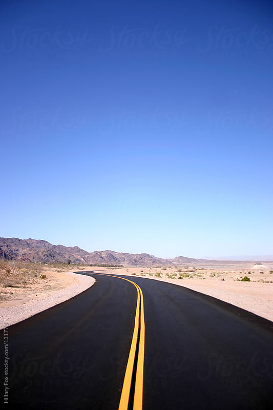 Road To Lake Mead by Hillary Fox for Stocksy United
