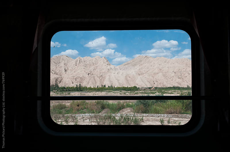 Travelling by train through western China. by Thomas Pickard Photography Ltd. for Stocksy United