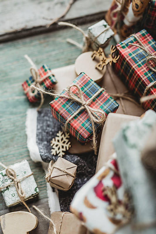 Christmas gifts by Tatjana Zlatkovic for Stocksy United