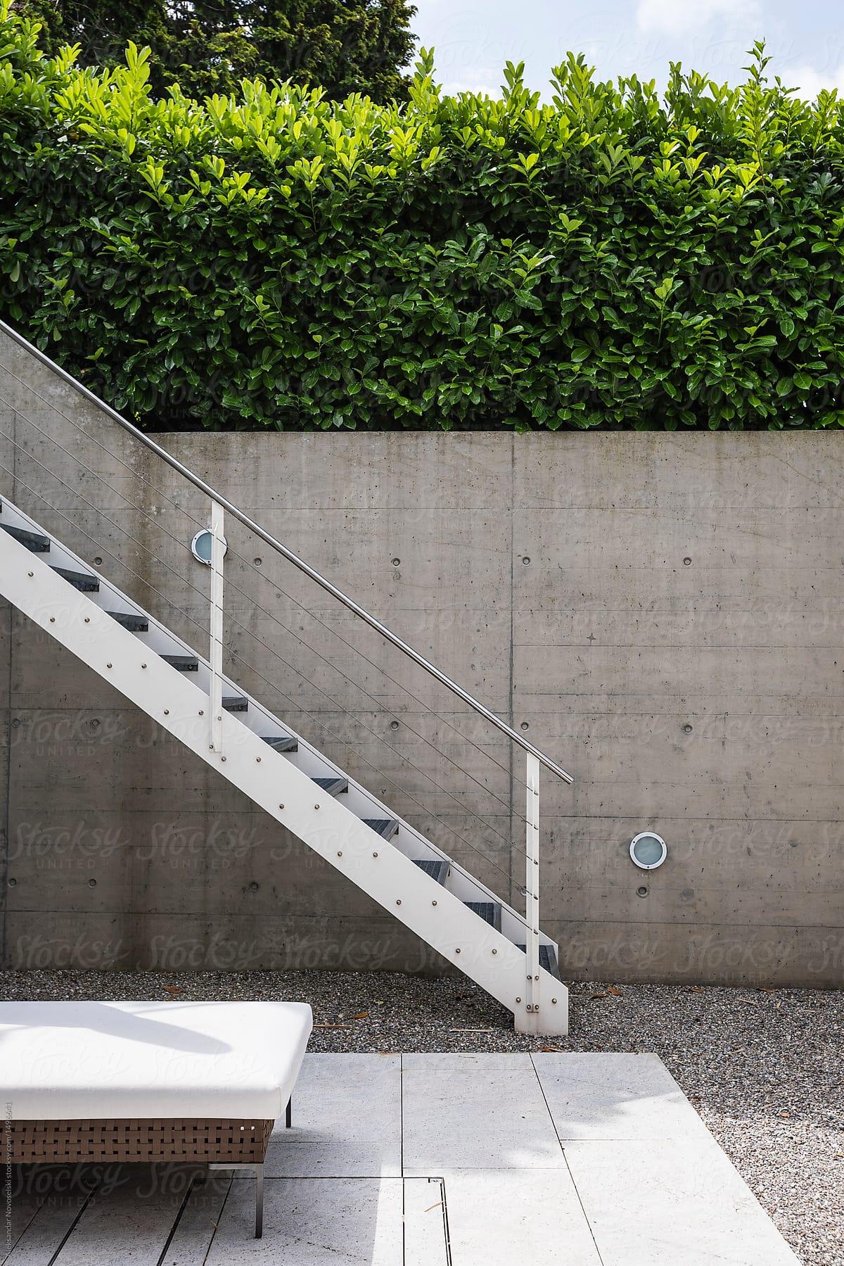 Stairs Outside The House By Aleksandar Novoselski Stocksy United