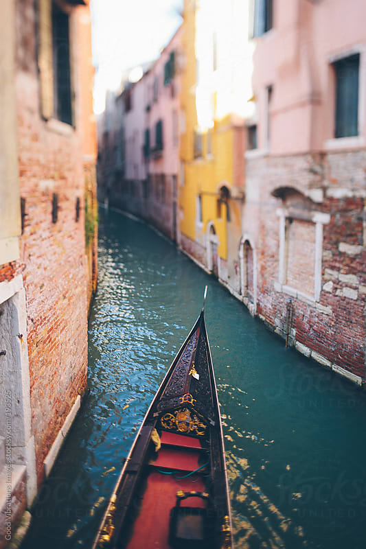 Gondola in Venice by Good Vibrations Images for Stocksy United