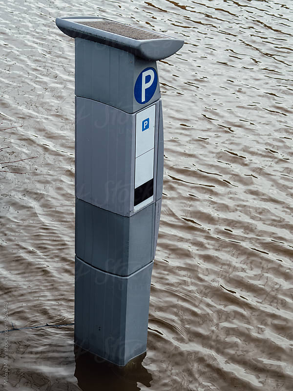 Parking meter by Milena Milani for Stocksy United