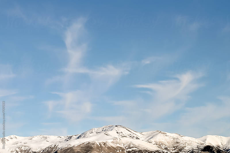 Winter in The Pyrenees  by Bisual Studio for Stocksy United