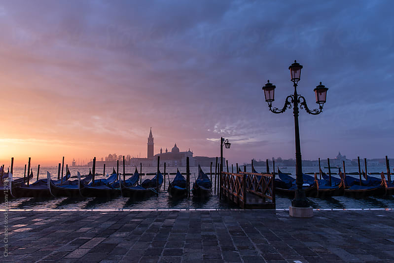 Sunrise in Venice by Chris Chabot for Stocksy United