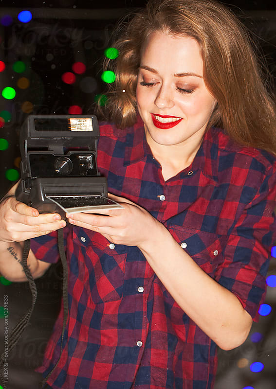 Girl photographer by T-REX & Flower for Stocksy United