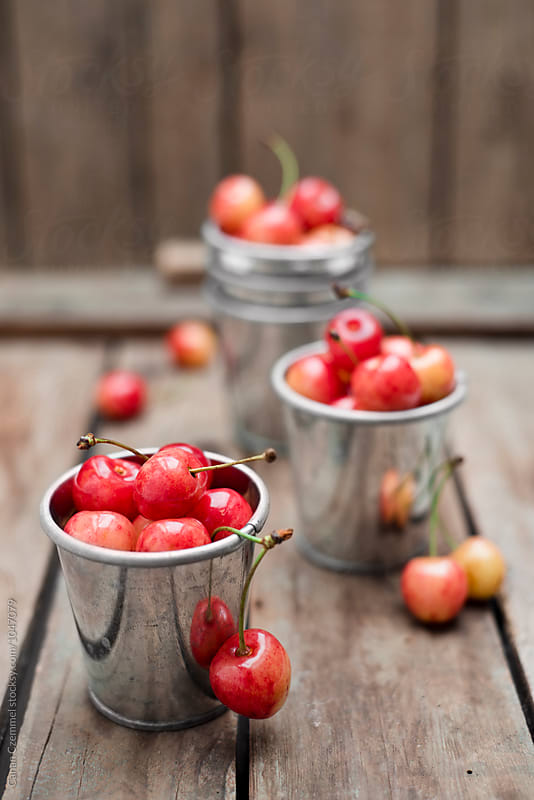 fresh cherries by Canan Czemmel for Stocksy United