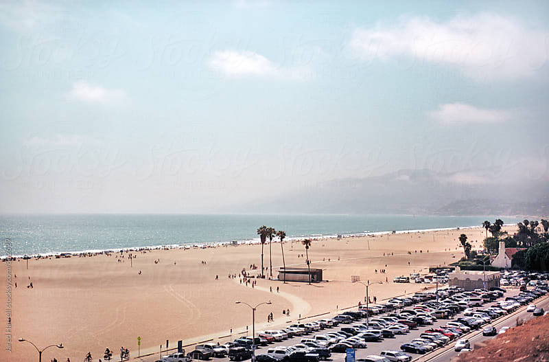 Santa Monica State Beach, Santa Monica, California by Jared Harrell for Stocksy United