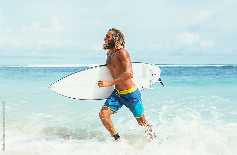Life Is Better When You Surf  by Studio Firma for Stocksy United