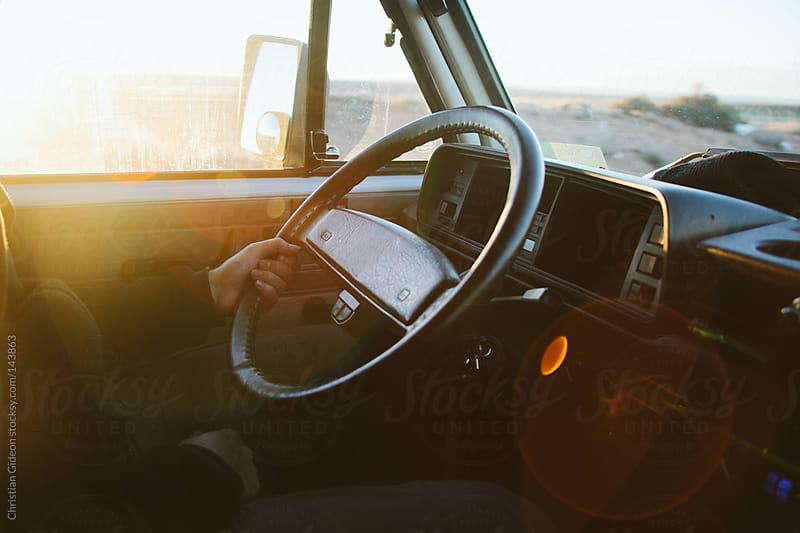 Van Road Trip by Christian Gideon for Stocksy United