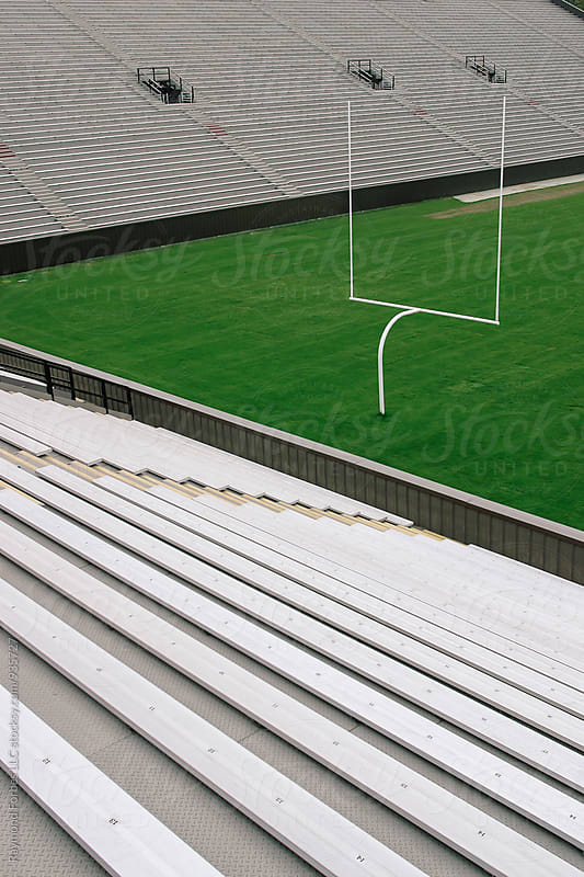Football Field  by Raymond Forbes LLC for Stocksy United