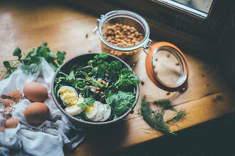 Salad Prep by Camrin Dengel for Stocksy United