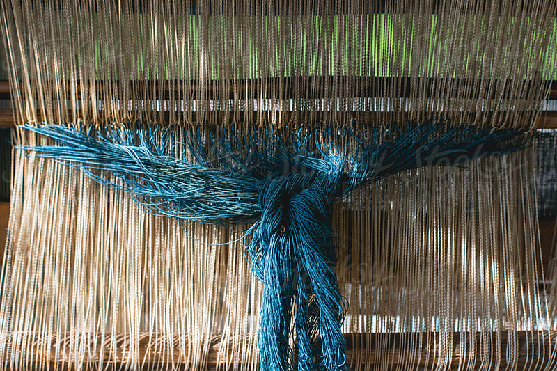 Natural Indigo Dye by Chalit Saphaphak for Stocksy United