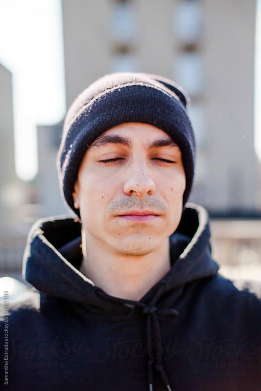 Brooklyn Rooftop Portraits by Samantha Estrada for Stocksy United