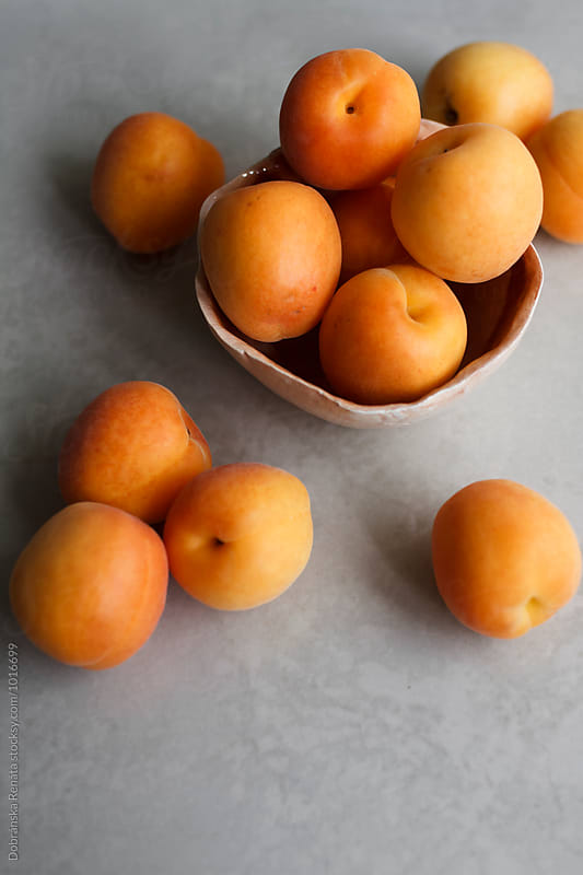 Fresh Apricots by Dobránska Renáta for Stocksy United