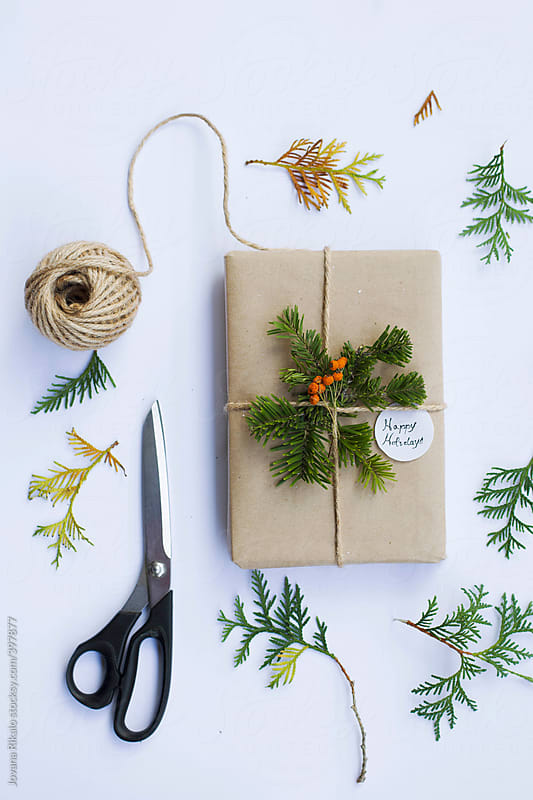 Christmas gift by Jovana Rikalo for Stocksy United