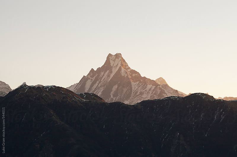 Travelling through Nepal, including Kathmandu, Pokhara and Annapurna Circuit by Luke Gram for Stocksy United