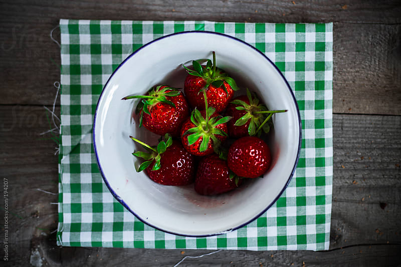 Strawberries by Studio Firma for Stocksy United