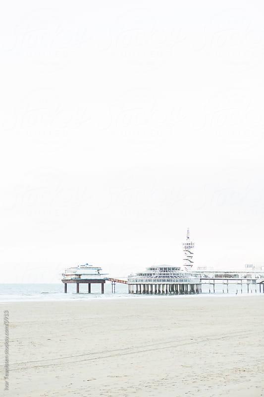 Pier of Scheveningen by Ivar Teunissen for Stocksy United