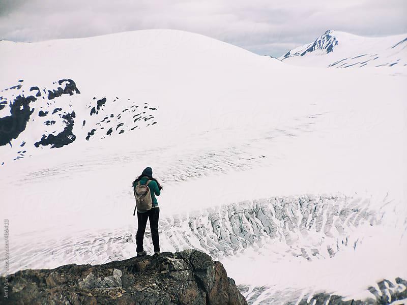Glacier by Jeff Marsh for Stocksy United