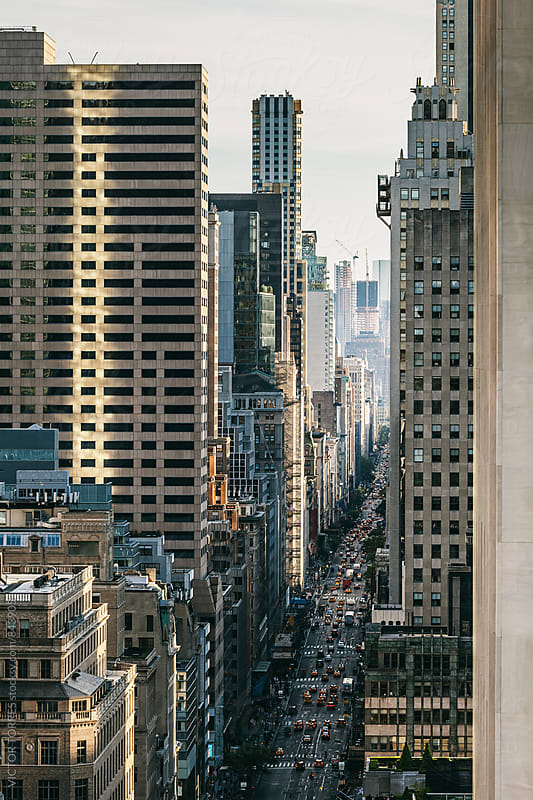 5th Avenue, Manhattan, New York by Victor Torres for Stocksy United