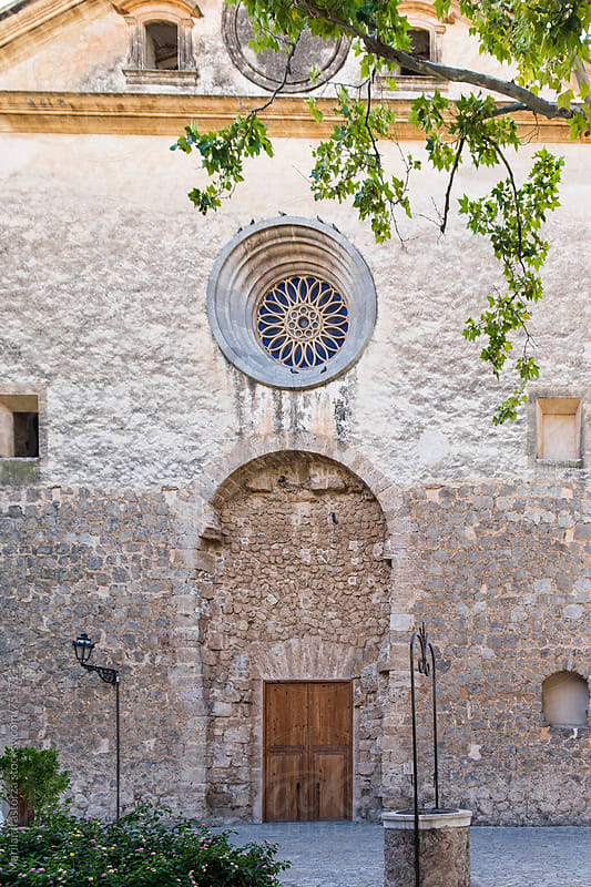 Church of Sant Bartomeu, Valldemosa, Balearic Islands by Marilar Irastorza for Stocksy United