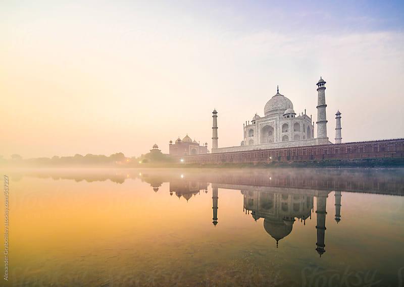 Taj Mahal by Alexander Grabchilev for Stocksy United