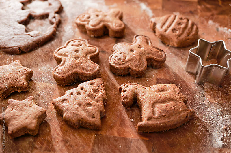 Food: Christmas cookies by Ina Peters for Stocksy United