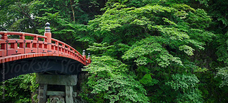 Shinkyo Bridge in Nara, Japan by Jon Rodriguez for Stocksy United
