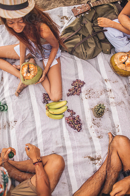 Picnic on the Beach by Studio Firma for Stocksy United