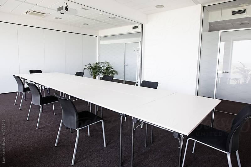 Empty Boardroom by Lumina for Stocksy United