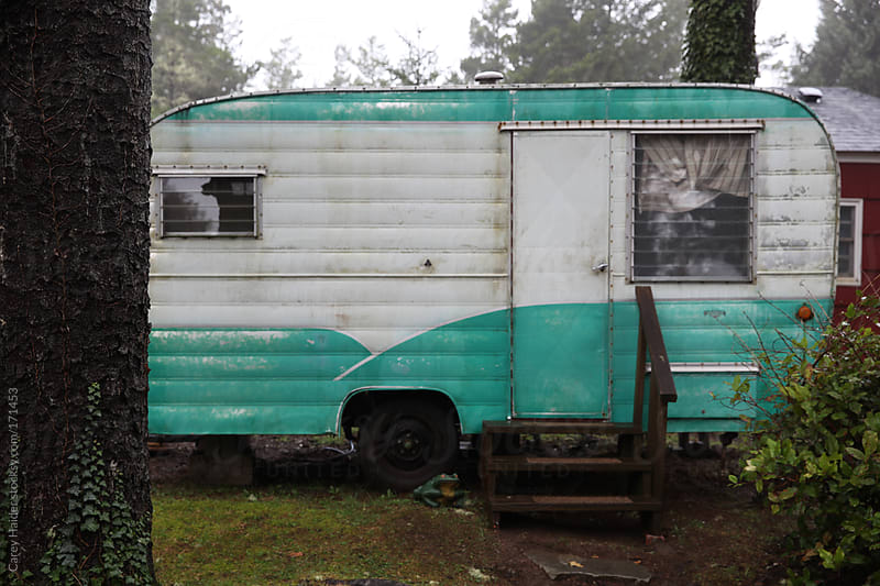 Vintage Travel Trailer by Carey Haider for Stocksy United