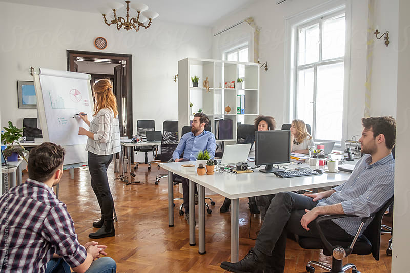 Group of People at the Business Meeting by Aleksandra Jankovic for Stocksy United