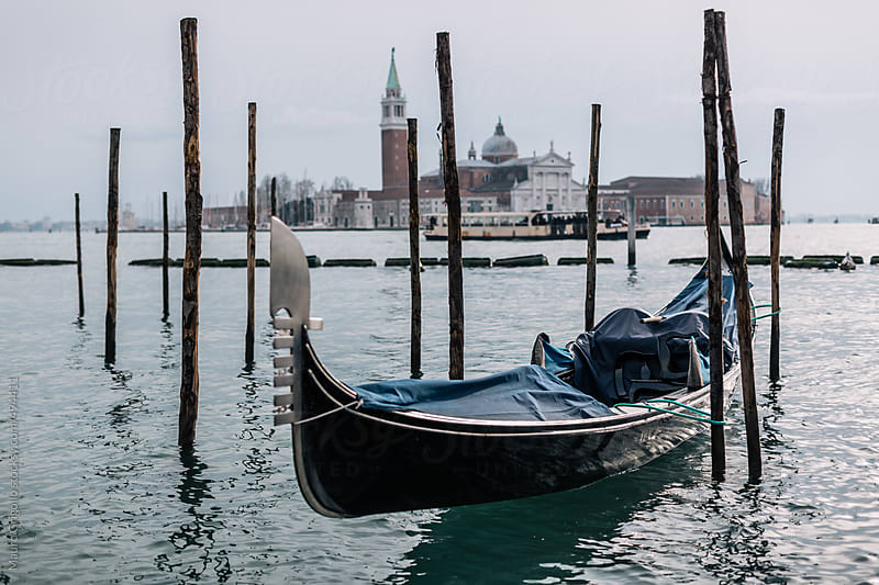 Gondola in Venice, Italy. by Mauro Grigollo for Stocksy United