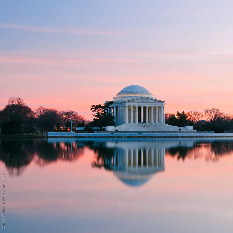 Jefferson Memorial by Cameron Whitman for Stocksy United