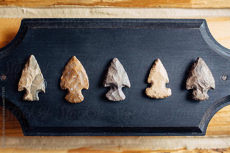 Old arrowheads by Gabriel (Gabi) Bucataru for Stocksy United