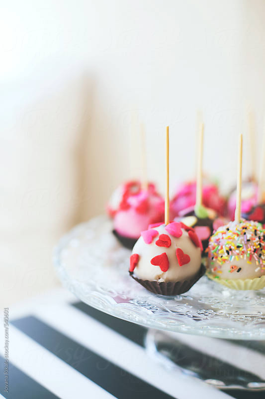 Valentine pastry by Jovana Rikalo for Stocksy United