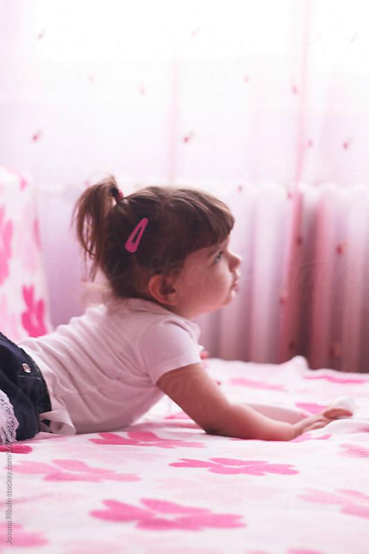 Adorable little girl by Jovana Rikalo for Stocksy United