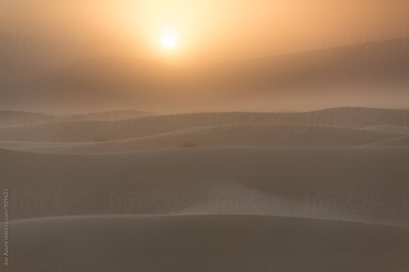 Sunrise Sand Dunes by Joe Azure for Stocksy United