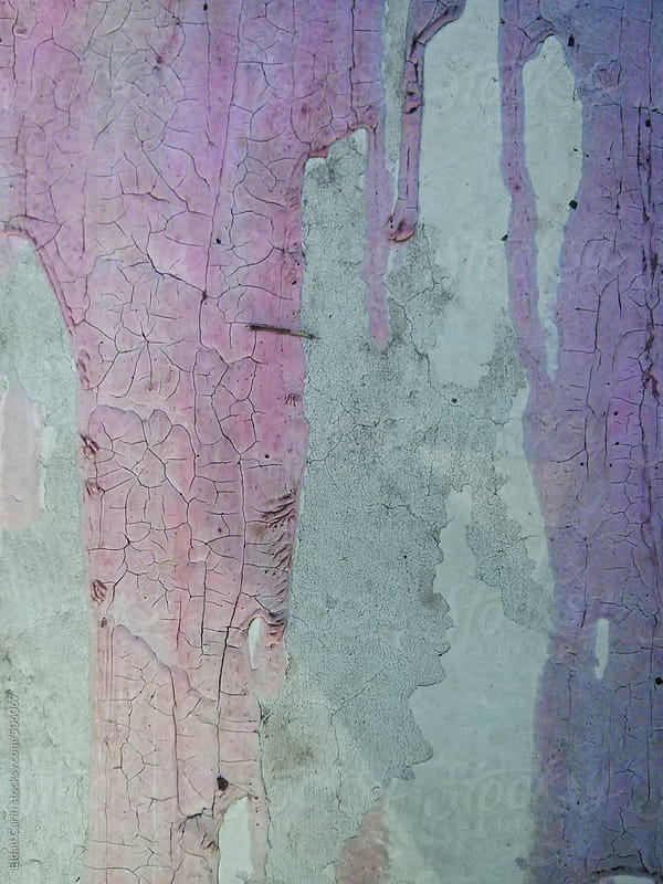 Dried Pink Paint Spillage by Eldad Carin for Stocksy United