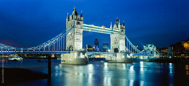Tower Bridge and River Thames, London, England, UK, Europe by Gavin Hellier for Stocksy United