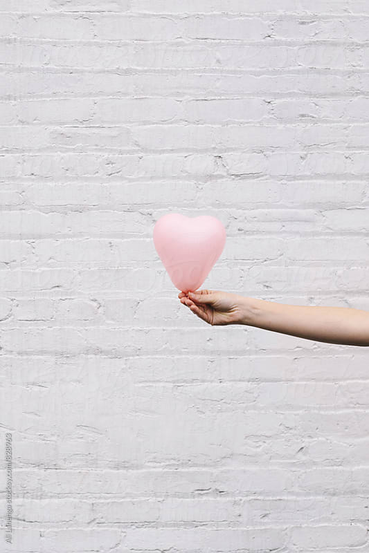 Heart Balloon by Ali Lanenga for Stocksy United