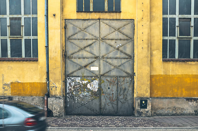 Run-down facade by Good Vibrations Images for Stocksy United