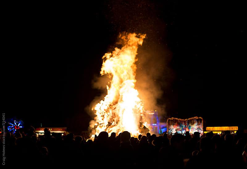 Bonfire night celebrations by Craig Holmes for Stocksy United